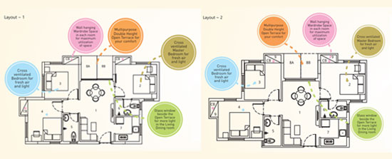 3 BHK apartments in Serampore for sale