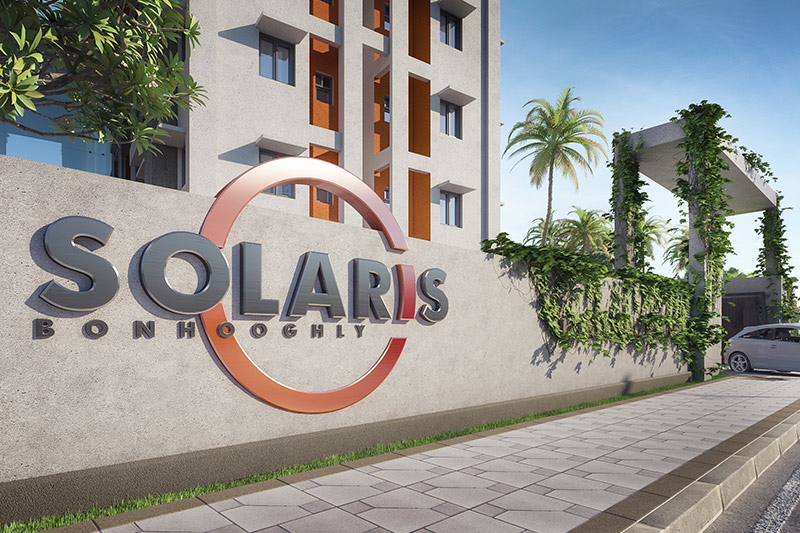 Main entrance of Solaris Bonhooghly